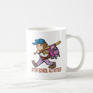 After School Activities Basic White Mug
