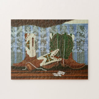 After the Rodeo dance Jigsaw Puzzle