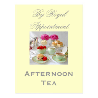 Afternoon Tea 'By Royal Appointment' Postcard