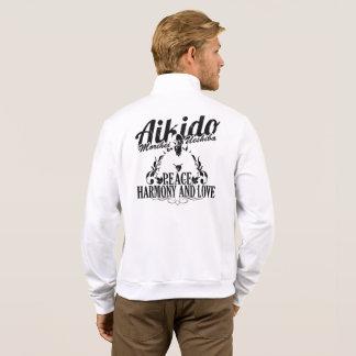 Agasalho with Kanji Aikido and Logo in the coasts Jacket