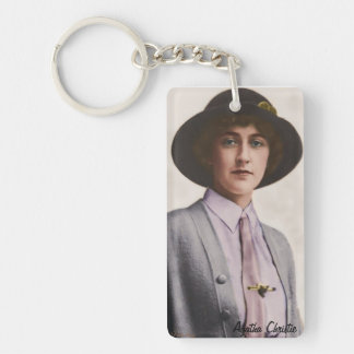 Agatha Christie Key Chain
