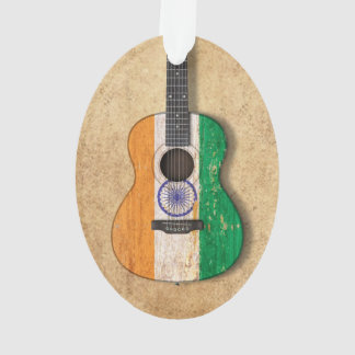 Indian flag christmas tree decorations ornaments for Acoustic guitar decoration ideas