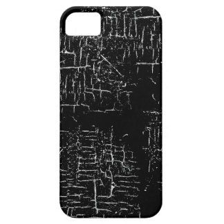 aged black paint iPhone 5 cover