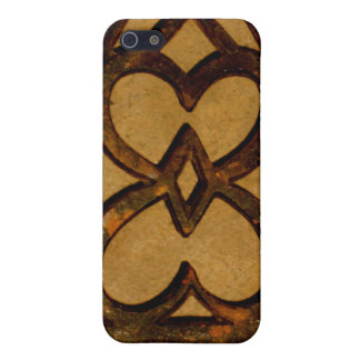 Aged Metal Scroll Ornate Iron Work Case For iPhone 5/5S