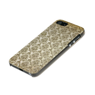 Aged White Damask Incipio Feather® Shine iPhone 5 Case