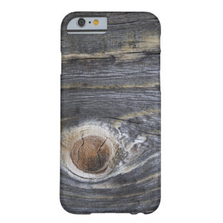 Aged Wood Barely There iPhone 6 Case