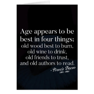 Ageing Wisdom quote Card