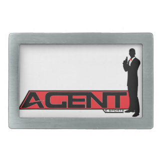 Agent eSports Belt Buckle