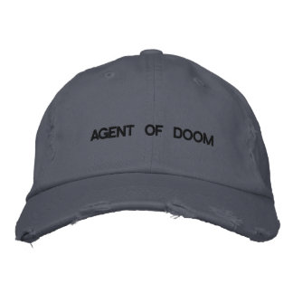 AGENT OF DOOM EMBROIDERED HAT