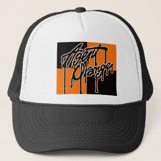 "Agent Orange ""Drip"" Logo Punk Hat"