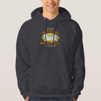Agility Bichon Frise Secret Hooded Sweatshirt