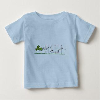 Agility  Christmas Lights Baby T-Shirt