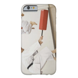 Agility exercise in karate class barely there iPhone 6 case