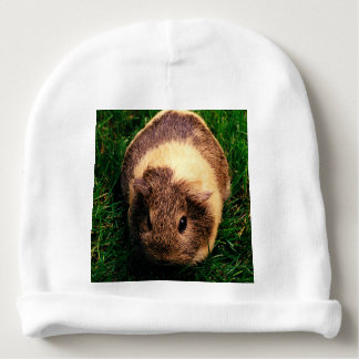 Agouti Guinea Pig in the Grass Baby Beanie