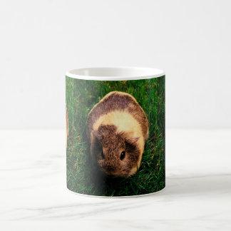 Agouti Guinea Pig in the Grass Basic White Mug