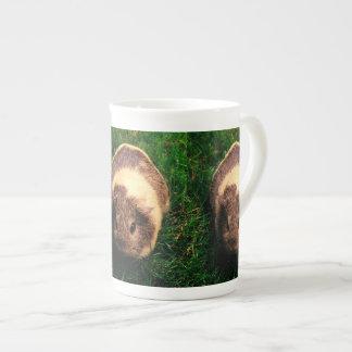 Agouti Guinea Pig in the Grass Bone China Mug