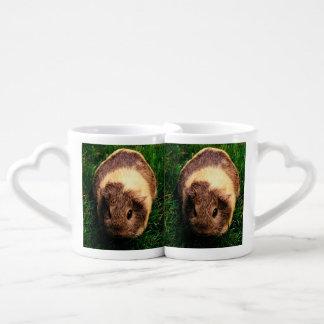 Agouti Guinea Pig in the Grass Coffee Mug Set