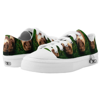 Agouti Guinea Pig in the Grass Printed Shoes