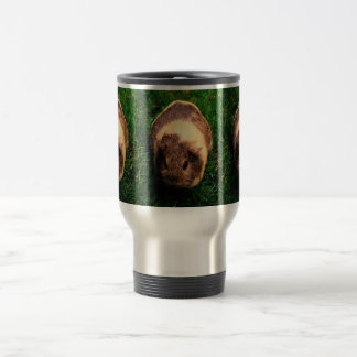 Agouti Guinea Pig in the Grass Stainless Steel Travel Mug
