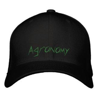 Agronomy Embroidered Baseball Cap