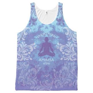 Ahimsa - Do No Harm - Peace (XL) All-Over Print Singlet