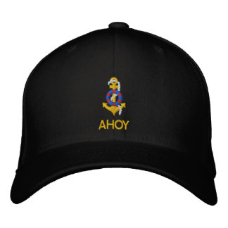 AHOY EMBROIDERED HATS