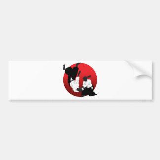 Aikido Bumper Sticker