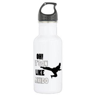 Aikido designs 532 ml water bottle