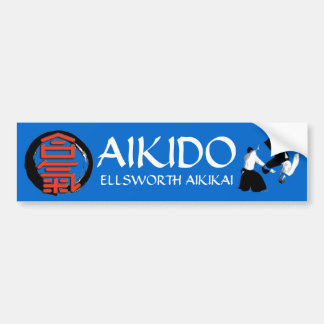 Aikido Ellsworth Aikikai Bumper Sticker