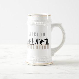 Aikido Evolution Beer Stein