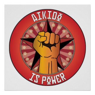 Aikido Is Power Poster