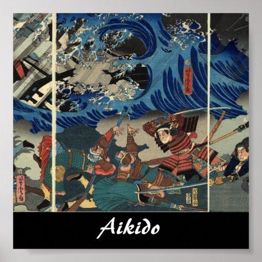 Aikido Japanese Martial Art Print