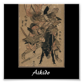 Aikido Japanese Martial Art Posters