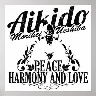 Aikido poster the Sensei