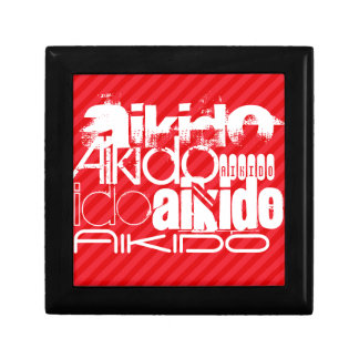 Aikido; Scarlet Red Stripes Gift Box