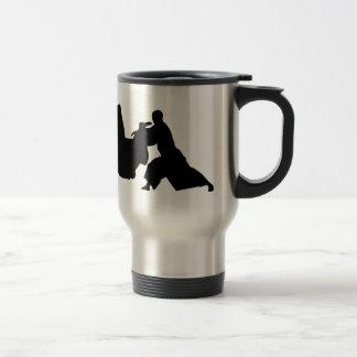 Aikido Silhouette Travel Mug