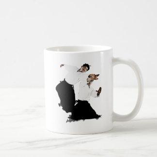 Aikido suwari coffee mug