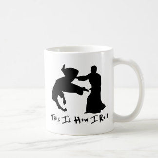 Aikido This Is How I Roll Coffee Mug