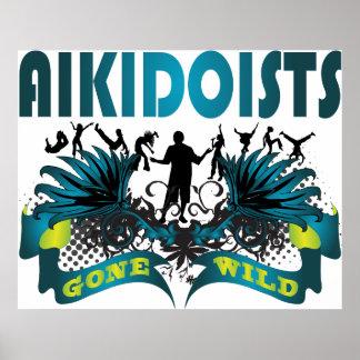 Aikidoists Gone Wild Print
