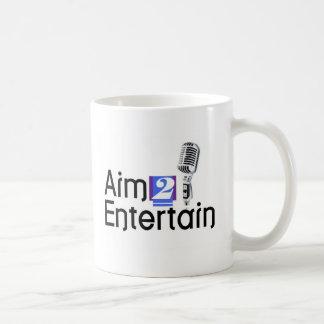 AIM 2 ENTERTAIN COFFEE MUG