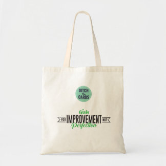 Aim For Improvement Grocery Tote