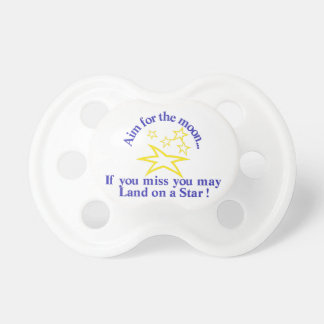 Aim for the Moon Pacifier