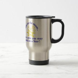 Aim for the Moon Travel Mug