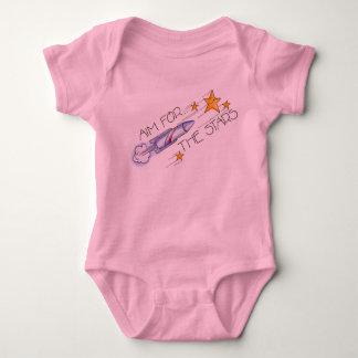 aim for the stars baby bodysuit