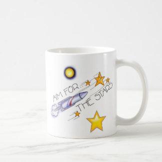 Aim  For The Stars! - Dual Design Cup Mug
