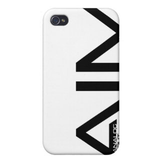 AIM graphic  Case For The iPhone 4