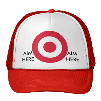 Aim here cap