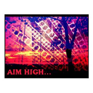 Aim High card