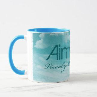 Aim High. Visualize The Dream. Mug