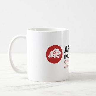 AIM Logo & Tagline Mug (White)